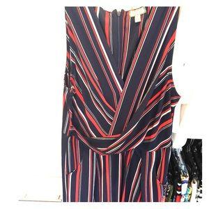 Blue striped jumpsuit - Size M